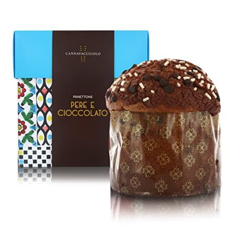 Cannavacciuolo Panettone Artigianale al Cioccolato gianduia - 1kg