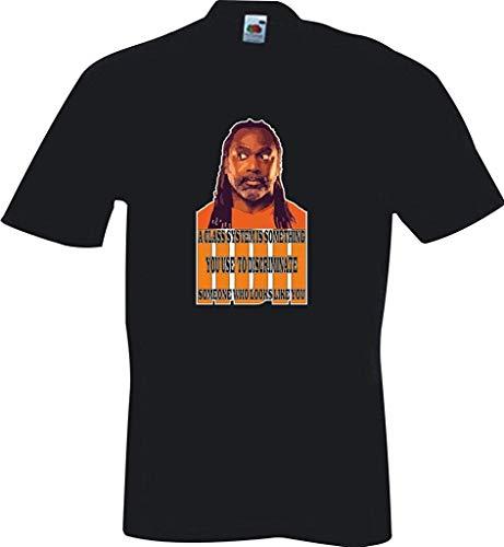 RISKYT Een klasse systeem is iets wat je gebruikt om Reginald D Hunter T Shirt Discrimineren