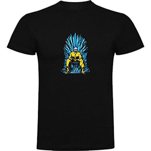 Camiseta de Mujer Breaking Bad Heisenberg Jesse Walter White Juego de Tronos L