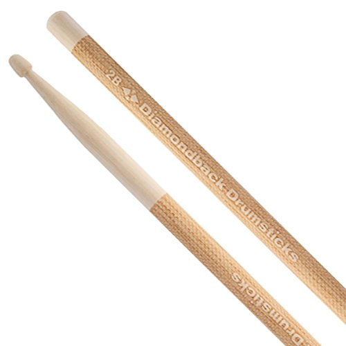 Diamondback Drumsticks 2B Wood Tip Hickory Laser Gravur Drum Sticks