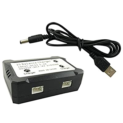 MagiDeal 2 in 1 USB Balance Charger for Syma X8 X8C X8G X8HG X8HW RC Quadcopter Spare Parts from MagiDeal