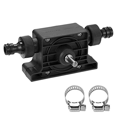 Baifeng Electric Drill Drive Pump Oil Water Mini Self Priming Transfer Pump Portable Corrosion Resistant