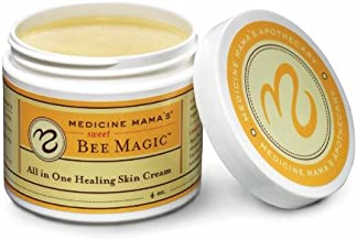 Sponsored Ad - Medicine Mama's Apothecary Sweet Bee Magic All In One Healing Skin Cream, 4 Ounce