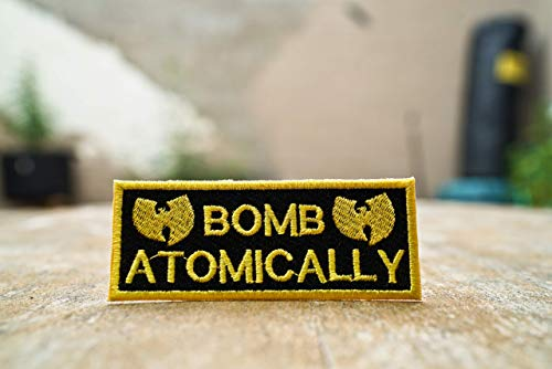 Bomb Atomically, Wu-Tang, Inspectah Deck, Triumph, Embroidered Patch