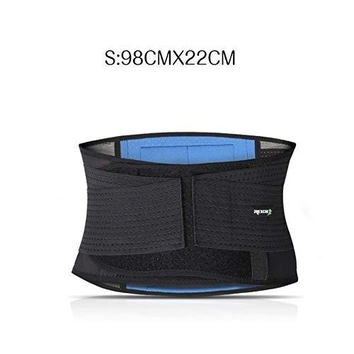 WZNING Equipo de Protección lumbar ayuda del apoyo de la correa de la cintura gimnasia de...