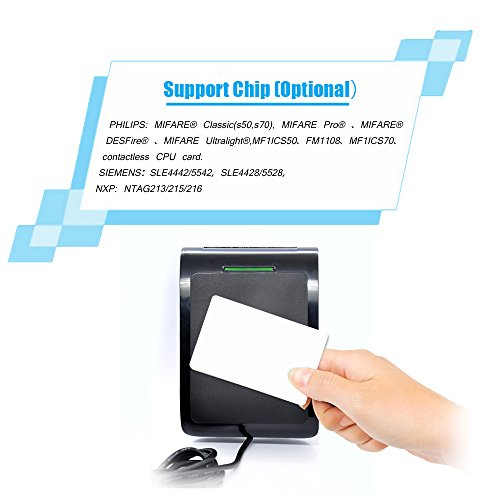 NFC RFID Smart Card Reader Writer Copier Duplicator Beschreibbare Klon Software USB 13,56 MHz ISO/IEC18092+ 2pcs M1 Karten + 2pcs FM4442 Karten + 2pcs NTAG213 Tags