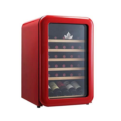 WSMLA Cave à vin Réfrigérateur Rouge Cave à vin Cave à vin Chiller Countertop - Intégrable...