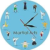 Reloj de pared de artes marciales mixtas moderno reloj de pared...