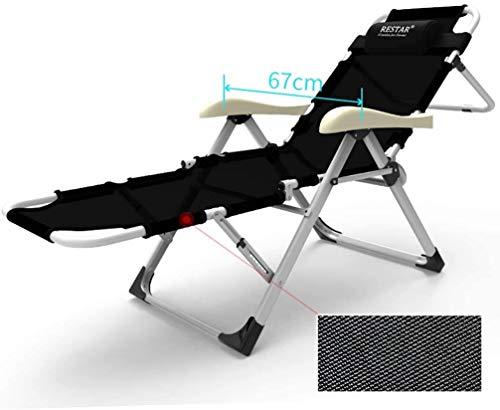 YUMUO Klappbare Sonnenliege , Klappbarer Liegestuhl , Liegender Gartenstuhl , Solarium mit Abnehmbarer Beinstütze Liegende Kopfstütze (Maße: 5)