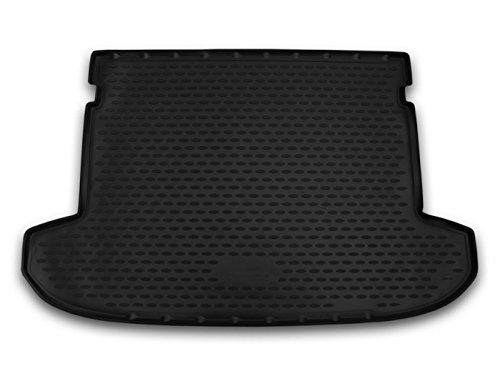 AD Tuning TMP17006 Passform Kofferraumwanne, Anti-Rutsch Oberfläche, schwarz
