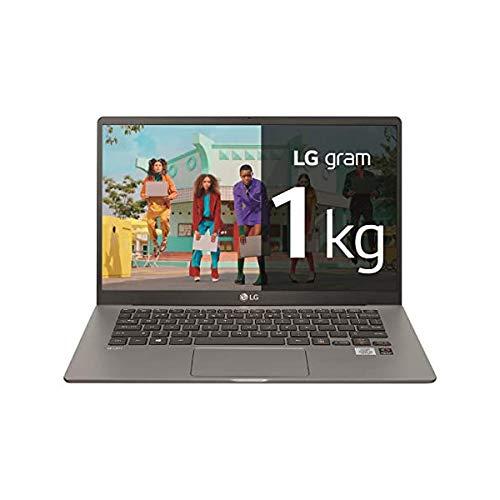 LG - Portátil gram 14Z90P Windows 10 Home, Ultraligero de 30.2 cm (14') WUXGA 16:10 IPS (1 Kg, autonomía 18.5 h. Intel EvoTM i5 11ª Gen., Iris Xe, 16GB RAM, 512GB SSD NVMe), Teclado Español, Negro