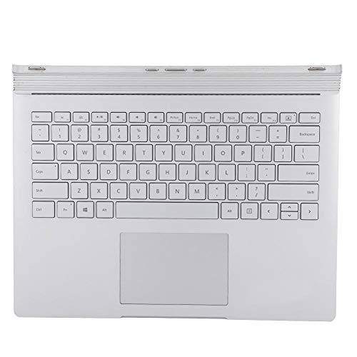 Wendry Keyboard,Portable Office Keyboard Multifunctional Keyboard Replacement for Microsoft Surface Book 1 1704,Silver