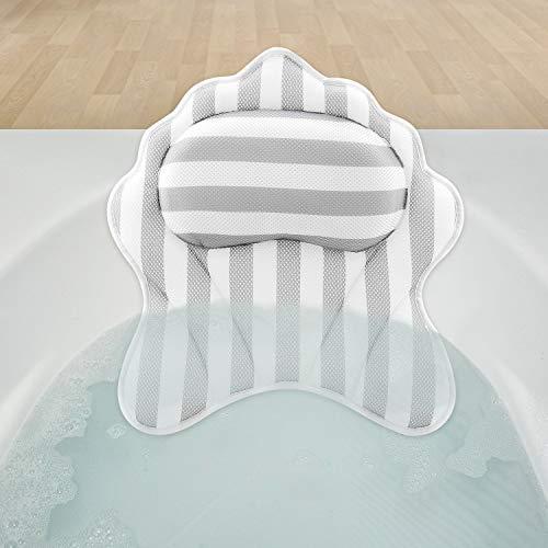 Hossejoy Badewannenkissen Luxuriöses Nackenkissen Badewanne - Optimales Nackenkissen/Wannenkissen - Komfort Badekissen