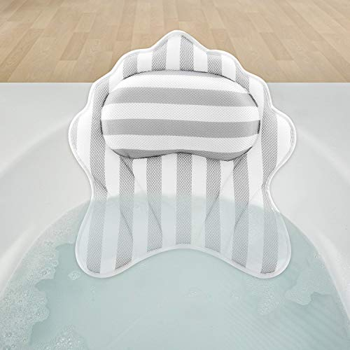 Hossejoy - Cuscino per Vasca da Bagno, Lussuoso Cuscino per Il Collo, per Vasca da Bagno