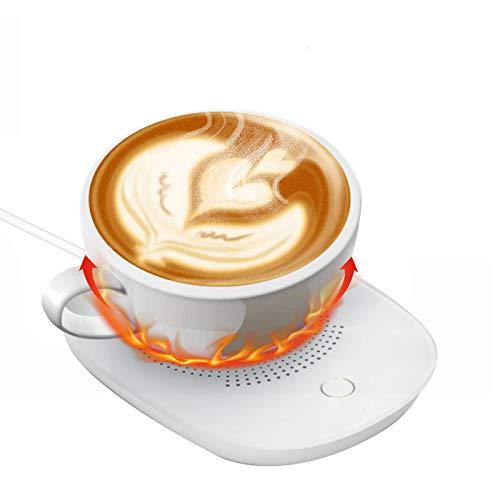 USB Getränkewärmer, Elektrische Tassenwärmer Pad, Getränkewärmer, Kaffeeheizung, Berühren Kaffee Heizung, Geeignet für verschiedene Tassenformen, Teeheizung, Milchheizung