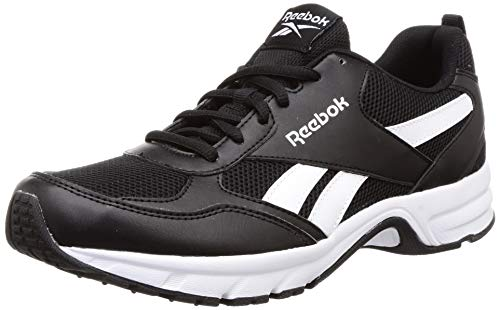 Reebok Run Pheehan 5.0, Zapatillas Unisex Adulto, Multicolor (Negro/Blanco/Negro), 41 EU