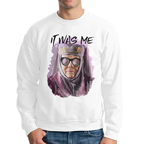 Tell Cersei It Was Me Men's Crewneck Sweatshirt,Sweatshirt For Men