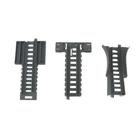Thomas and Friends Track-Master Mad Dash Around Sodor Train Set #BDP15 - Replacement Tracks - Set of Three - Incline, Ramp, Straight -  Mattel, BDP15-9089