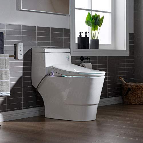 Woodbridgebath Woodbridge Luxury, Elongated One Piece Advanced Seat, T-0041, Bidet with Toilet