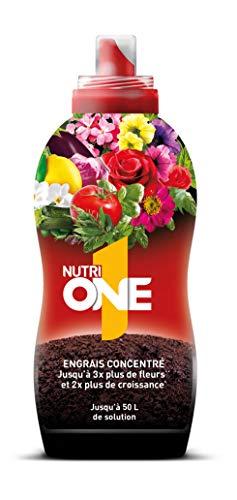 NUTRIONE ONELI500 Engrais Premium Liquide Universel 500 ML Luxuriantes   pour Toutes Plantes et Fleurs, Croissance Equilibrée, 500ml