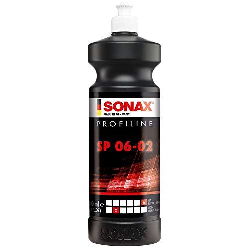 SONAX 320300-544 PROFILINE SP 43984 (1 Liter) silikonfreie Schleifpaste zum Abschleifen von verwitterten und verkratzten Lackschichten | Art-Nr. 3203000