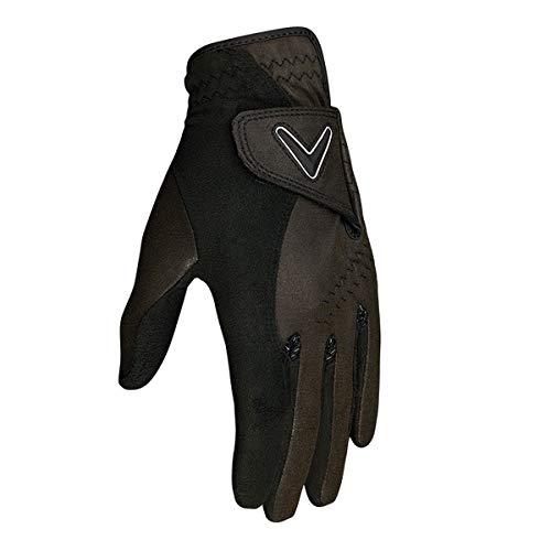 Callaway Damen Golfhandschuh Opti Grip Gloves (Paar) I Golf I Atmungsaktiv I Wasserabweisen M