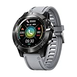 LQLD Smart Watch Fitness Tracker con Cardiofrequenzimetro Chiamata Bluetooth, Conta Calorie Passo Monitor del Sonno, Smartwatch Impermeabile IP68 per Donna Uomo