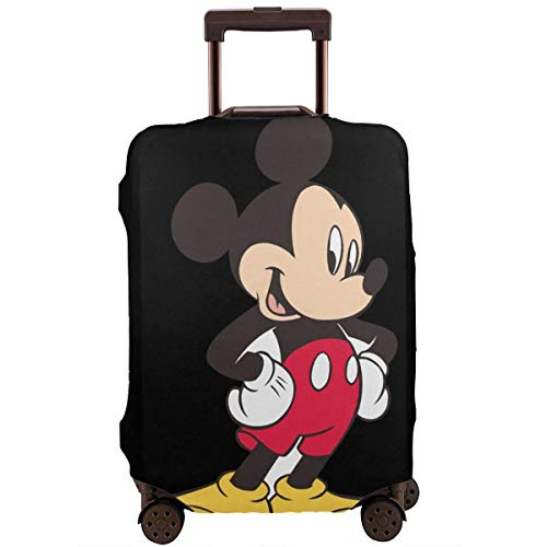 Travel Luggage Cover Mickey Mouse Suitcase Protector Washable Baggage Covers 18-32 Inch-L