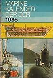 Marinekalender der DDR 1985 Volksmarine