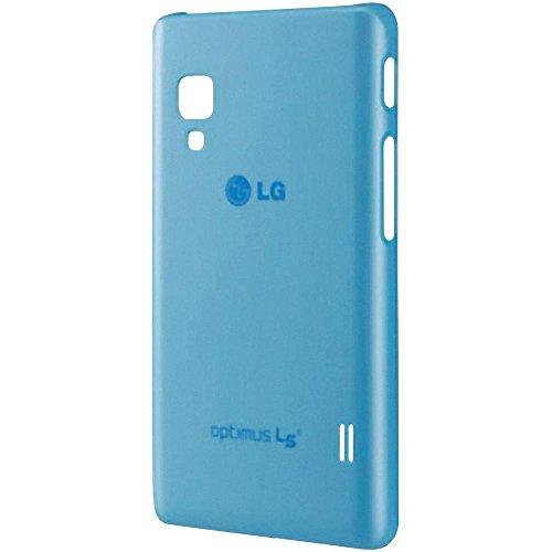 Lg electronics A107371 LG CCH-210 Ultra Slim Hülle für Optimus L5 blau