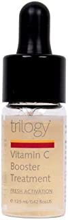 Trilogy Vitamin C Booster Treatment 12.5ml - A Repairing And Smoothing Certified Natural Body Oil - For All Over Hydration And Nourishment - Vitamin C - Intensely Hydrating Leave On - Hong Kong