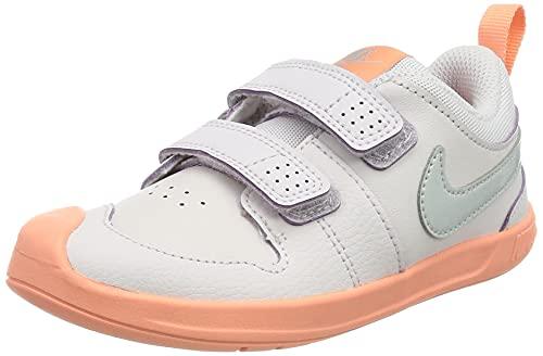 Nike Pico 5 TDV, Scarpe da Ginnastica Unisex-Bambini, lt Violet/Mtlc Platinum-Crimson Bliss-White, 18.5 EU