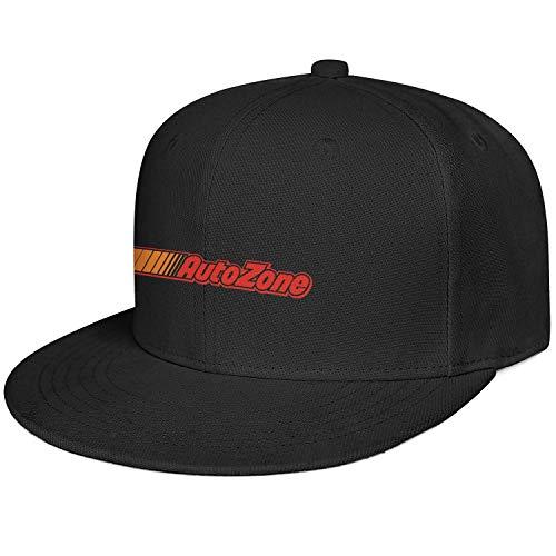 LHSPOSIFD Unisex Man Flat Hat Fashion Adjustable Captain AutoZone-Colorful-Logo-Symbol-Baseball Cap
