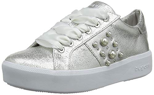 bugatti Damen 432407075900 Sneaker, Silber (Silver 1300), 41 EU