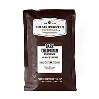Dark Colombian Supremo Coffee, Whole Bean, Fresh Roasted Coffee LLC (5 lb.)