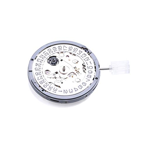 Movimiento automático mecánico de la exactitud del calendario del reloj de pulsera para NH35NH35A