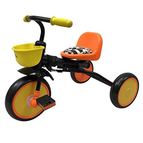 Nadle Orange Kids Trike for 3 Years Old, 10-inch Wheels