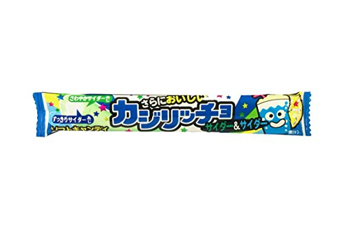 コリス カジリッチョサイダー&サイダーソフトキャンディ 1本×20個