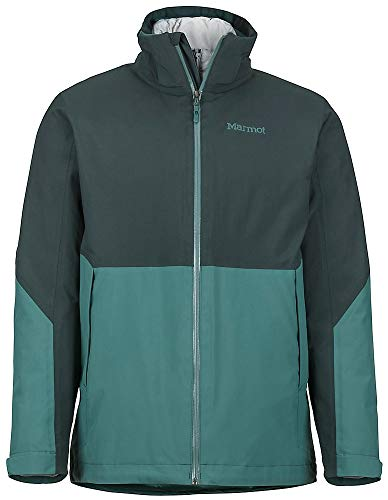 Marmot Featherless Component 3-in-1 Ski Jacket Dark Spruce/Green Mens Sz XXL
