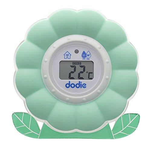 Dodie - Thermomètre Bain/Chambre 2 en 1, Dès la naissance
