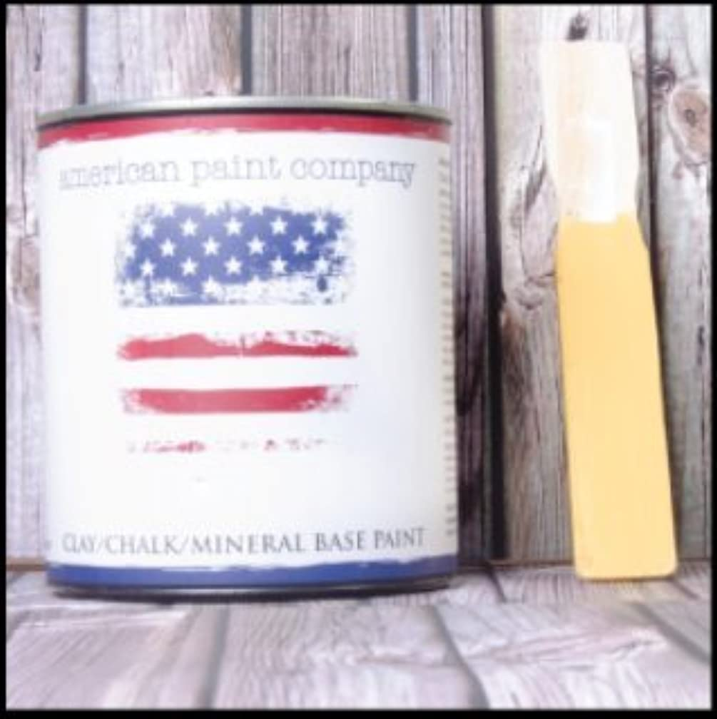 Amber Waves - Clay Chalk Mineral Based Paint by American Paint Company - The cleanest, healthiest Paints for The DIY Market. Chalk Type Paint.