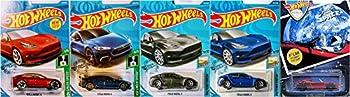 Hot Wheels Tesla 5 Car Bundle Set