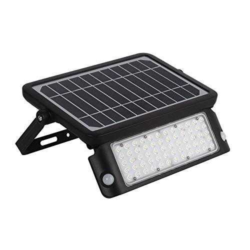 LEDKIA LIGHTING Foco Proyector LED Solar 10W con Sensor de Movimiento PIR...