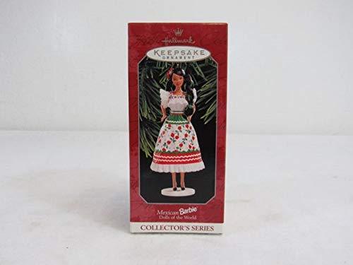 Hallmark Andenken Ornament 1998mexikanischen Barbie Puppen der Welt
