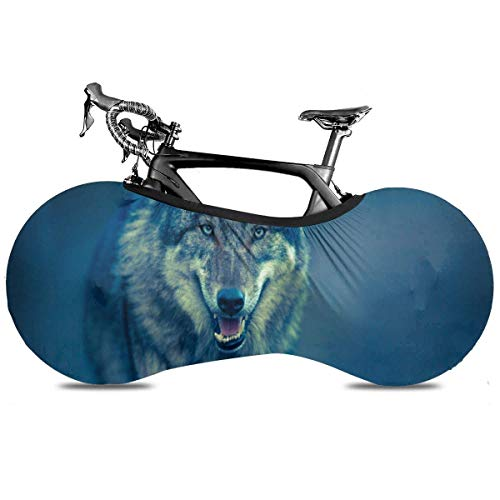 Lindsay Gosse Bike Cover Lion (16) Bike Cover für Mountainbike Rennrad Dirt Rain Snow Bike Schutz