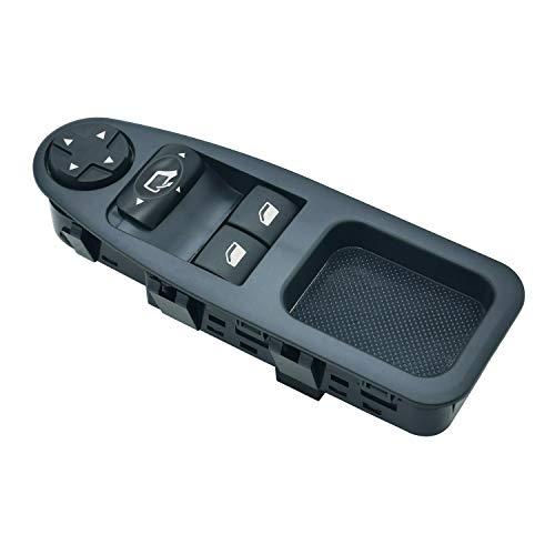 ZEALfix 6554.ZJ Botonera Elevalunas Ventana Interruptor Mando para Expert Fiat Scudo Dispatch