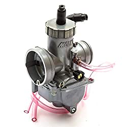 Molkt 30mm carburettor Suggested for use on larger 4 stroke Pitbike engines above 150cc Standard Venturi operation This carburettor will require a 50mm air filter A Petrolscooter supplied part
