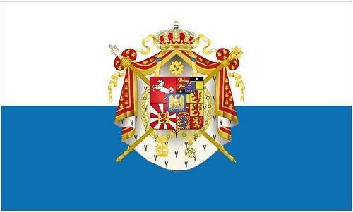 Fahne/Flagge Königreich Westfalen 90 x 150 cm