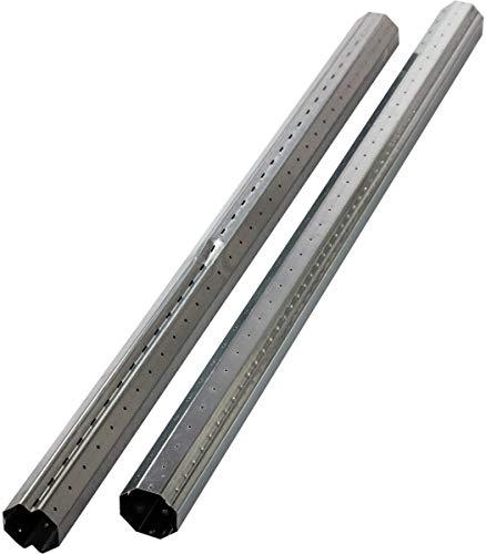Schellenberg 86005 Stahlrohrwellen-Set Rolladenwelle SW 60 Maxi Achtkantwelle für Rolladen 160 cm, kürzbar