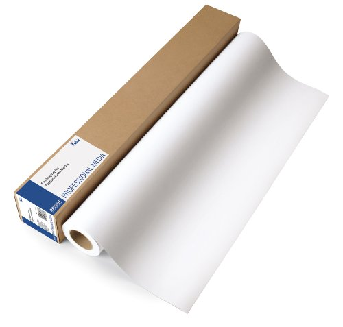 Epson S042002 - Rollo de papel semimatte blanco (13 pulgadas x 100 pies)